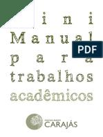 Mini Manual Trabalho s Academic Os