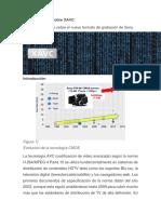 Informe Técnico Sobre XAVC