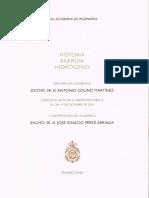 Antonio Colino Martínez_Historia, Energía, Hidrógeno