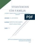 RESUMEN Intervencion Con Familias Liliana Barg