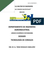 Dossier Tecnología de Cereales