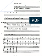 Notes on the Stave - Bass and Treble Clef