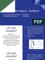 Teorema de Pappus - Guldinus