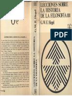 Hegel, G. W. F. - Lecciones Sobre La Historia de La Filosofía - 3 , F.C.E., 1977
