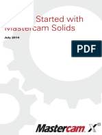 MasterCAM X8 - Getting started with Solids Tutorial .pdf