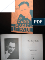 Card Magic of Le Paul.compressed