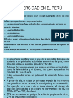 Biodiversidad en El Perú- 2-1