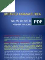 BOTÁNICA FARMACÉUTICA - 1