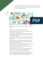 La Importancia de Formar Equipos de Alto Desempeño _ Empresas _ Negocios _ Portafolio