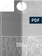 Fragmento de Historia Del Marxismo de Vranicki