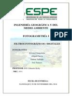 Filtros Fotograficos y Digitales