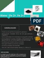 Hierro 2+ (Fe 2+)