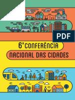 Cartilha 6 Conferencia Nacional Das Cidades