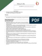 updated  resume internet 2017