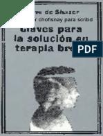 Shazer Steve De - Claves Para La Solucion En Terapia Breve.pdf