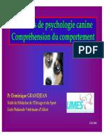 Psychologie Canine Et Comportement