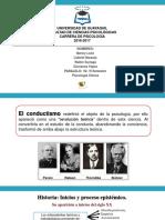 Exposición Grupo 2 Conductismo