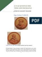 Algunas Joyitas Del Pontificado Romano