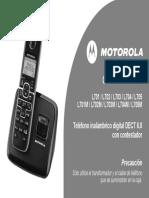 Telefono Motorola l701 Userguide Spanish