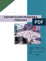 EXPORTACION PESQUERA PERUANA