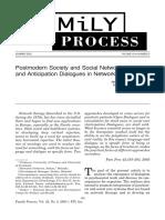 Postmodern Society and Social Networks