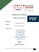 Redes de Tuberia