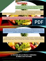 textura de los alimentos