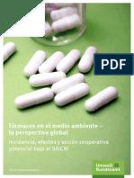 Farmacos en El Medio Ambiente