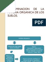 Determinacion de La Materia Organica de Los Suelos