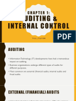 Auditing in Computer Environment System, Chapter 1 by james hall