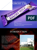CSR of Cadbury Ltd