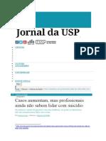 Entrevista - Jornal Da USP Fevereiro de 2017
