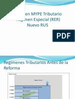 Régimen MYPE Tributario