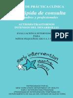 Guia Rapida de Consulta Para Padres y Profesionales de Autismo