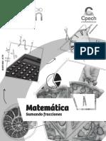 02 Sumando Fracciones (a) 1 Medio Matemáticas 2017_PRO