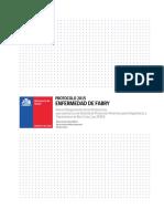 Protocolo Fabry Minsal