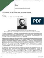 Bogdanov, la technocratie et le socialisme | La Bataille socialiste