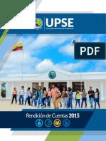 Rendicin de Cuentas 2015