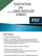 Cables Presentation