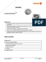 Technical Datasheet Kit Led Pro