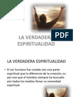 Verdadera Espiritualidad