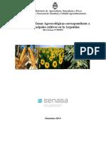 Zonas Agroecologicas de Aargentina