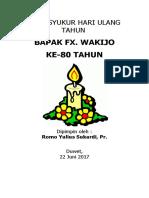 Misa Syukur Hari Ulang Tahun Ke 80 (Autosaved)