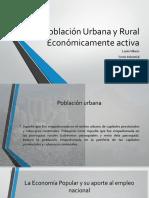 Poblacion Urbana Rural Realidad Nacional