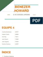 Ebenezer Howard Cidade Jardim