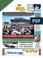 Diario El Sol Del Cusco 27 06 17