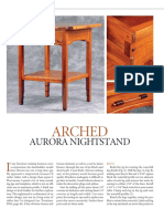 Arched Aurora Nightstand