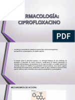 Ciprofloxacino Farmacologia PDF