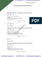 100 Ecuaciones Diferenciales Lineales de Orden-n
