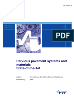D2 1 CLASS WP2 SOTA Permeable Pavement Systems and Materials